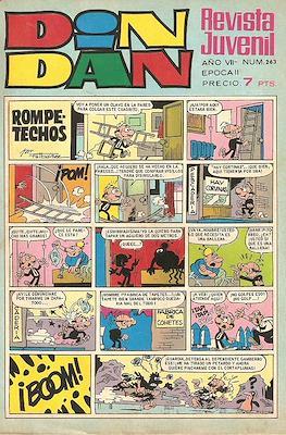 Din Dan 2ª época (1968-1975) (Grapa) #263