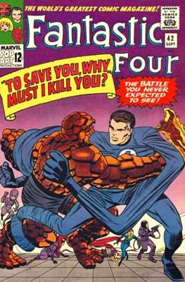 Fantastic Four Vol. 1 (1961-1996) (saddle-stitched) #42