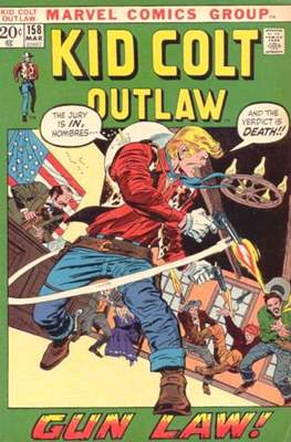Kid Colt Outlaw Vol 1 (Comic-book.) #158