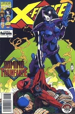 X-Force Vol. 1 (1992-1995) (Grapa 24-32 pp) #23