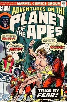 Adventures on the Planet of Apes #4