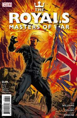 The Royals: Masters of War (Comic Book) #6