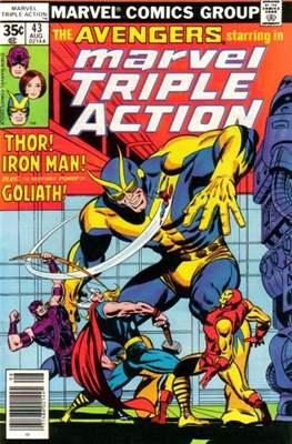 Marvel Triple Action Vol 1 (Comic-book.) #43