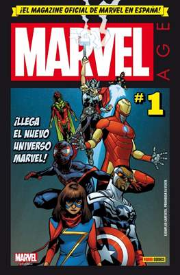 Marvel Age (2016-) (Grapa) #1