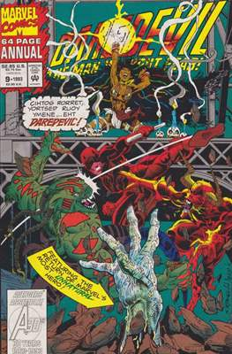 Daredevil Vol 1 Annual (Comic Book. 1967 - 1994) #9