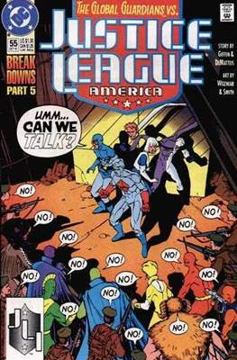 Justice League / Justice League International / Justice League America (1987-1996) (Comic-Book) #55