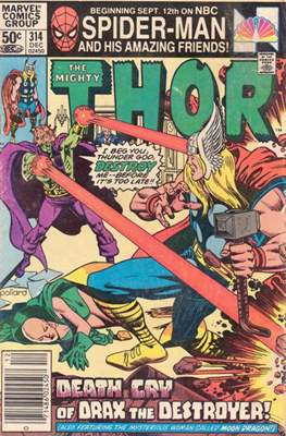 Journey into Mystery / Thor Vol 1 (Comic Book) #314
