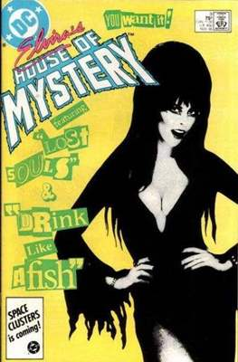 Elvira's House of Mystery #9