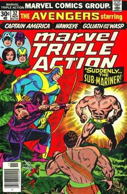 Marvel Triple Action Vol 1 (Comic-book.) #32