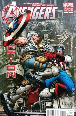 Avengers: X-Sanction (Variant Covers) (Comic Book) #1.1