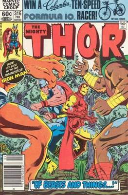 Journey into Mystery / Thor Vol 1 (Comic Book) #316
