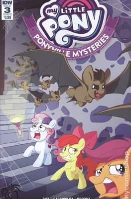My Little Pony: Ponyville Mysteries (Variant Cover) (Comic Book) #3