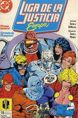 Liga de la Justicia Europa #1