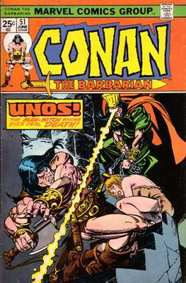 Conan The Barbarian (1970-1993) (Comic Book 32 pp) #51