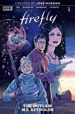 Firefly: Outlaw Ma Reynolds (Variant Cover)