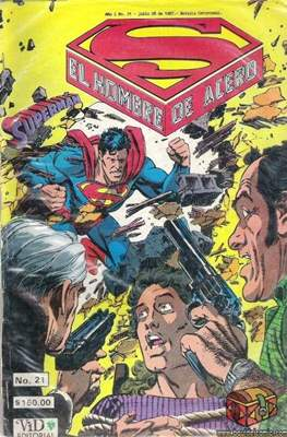 Superman Vol. 1 (Grapa. 1986-2001) #21