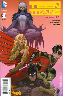 Teen Titans Vol. 5 (2014-2016 Variant Cover)