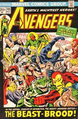 The Avengers Vol. 1 (1963-1996) (Comic Book) #105