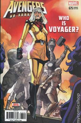 The Avengers Vol. 7 (2016-...Variant Covers ) (Grapa) #675.3