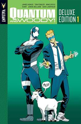 Quantum and Woody Deluxe Edition (Hardcover 350-304 pp) #1
