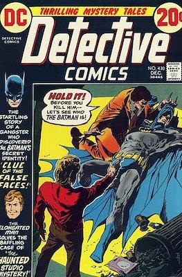 Detective Comics Vol. 1 (1937-2011; 2016-) (Comic Book) #430