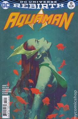 Aquaman Vol. 8 (2016-2021) Variant Cover) #10