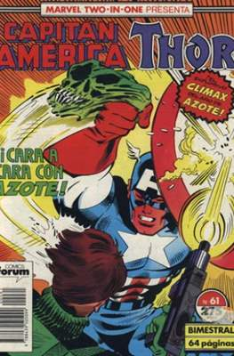 Capitán América Vol. 1 / Marvel Two-in-one: Capitán America & Thor Vol. 1 (1985-1992) (Grapa 32-64 pp) #61