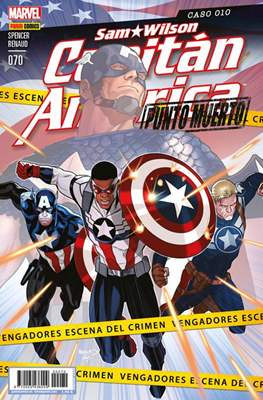 Capitán América Vol. 8 (2011-) (Grapa) #70