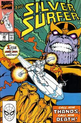 Silver Surfer Vol. 3 (1987-1998) #34