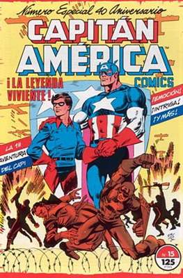 Capitán América Vol. 1 / Marvel Two-in-one: Capitán America & Thor Vol. 1 (1985-1992) (Grapa 32-64 pp) #15