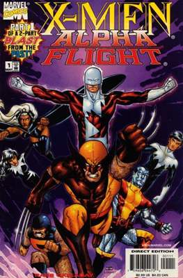 X-Men / Alpha Flight: Blast From the Past! (1998) (Grapa) #1