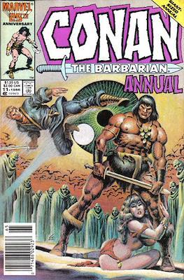 Conan The Barbarian Annuals (1973-1987) (Grapa, 48 págs.) #11