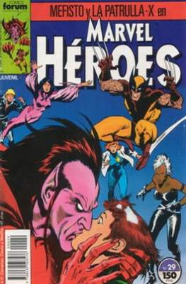Marvel Héroes (1986-1993) (Grapa 32 pp) #29