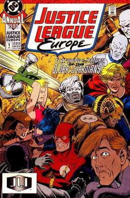 Justice League Europe Annual