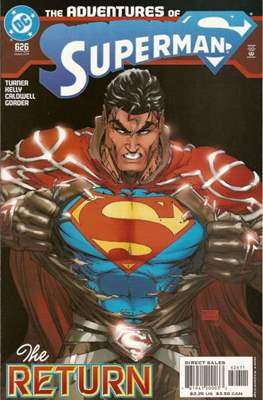 Superman Vol. 1 / Adventures of Superman Vol. 1 (1939-2011) (Comic Book) #626