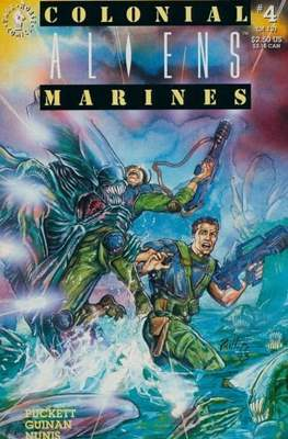 Aliens: Colonial Marines (Saddle-stitched. 1993) #4