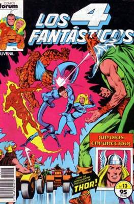 Los 4 Fantásticos Vol. 1 (1983-1994) (Grapa 36-32-24 pp) #13