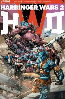 Harbinger Wars 2 (Grapa) #4