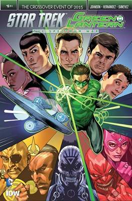 Star Trek Green Lantern (Comic Book) #6