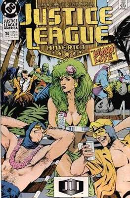 Justice League / Justice League International / Justice League America (1987-1996) (Comic-Book) #34