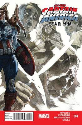 All-New Captain America: Fear Him (2015) #4