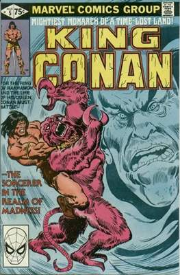 King Conan/Conan the King (1980-1989) (Grapa, 48 págs.) #5