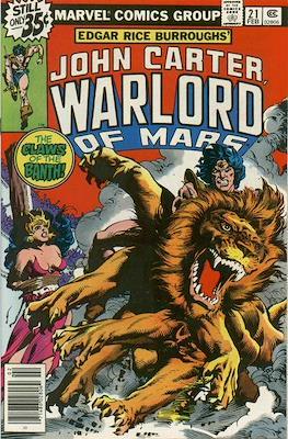 John Carter Warlord of Mars Vol 1 (Comic-book.) #21