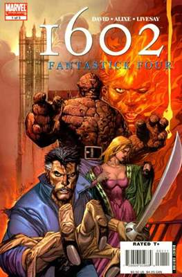 1602: Fantastick Four (Comic Book) #1