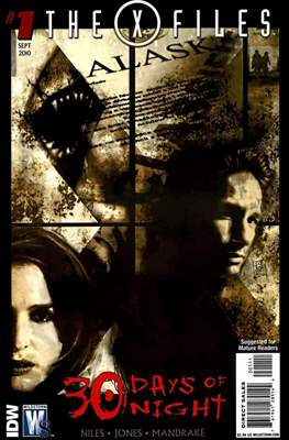 The X-Files: 30 Days of Night (Comic Book) #1