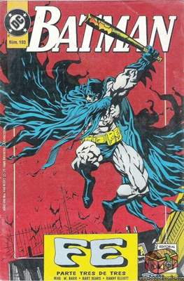 Batman Vol. 1 (Grapa. 1987-2002) #193