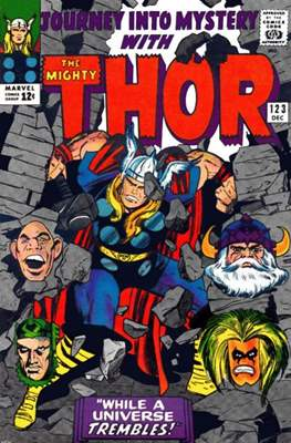 Journey into Mystery / Thor Vol 1 (Comic Book) #123