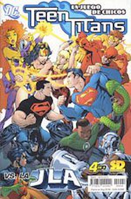 Teen Titans Un Juego de Chicos (grapa) #4