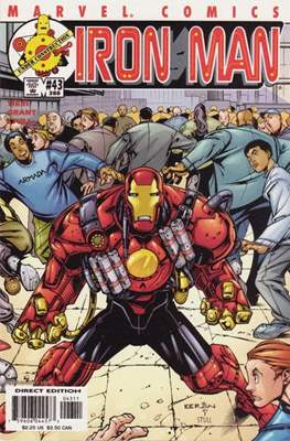 Iron Man Vol. 3 (1998-2004) (Comic Book) #43 (388)