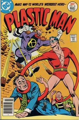 Plastic Man vol.2 (1966-1977) (Grapa, 32 págs.) #16
